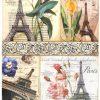 Rice Paper - Paris Flower