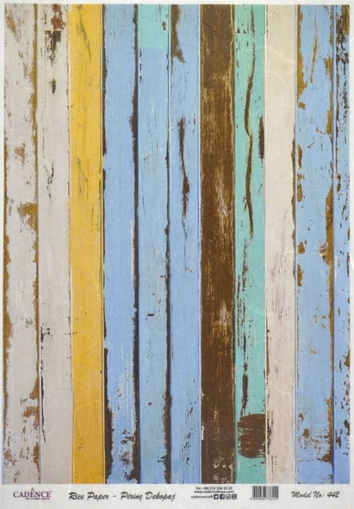 Rice Paper - Painted Fence cold