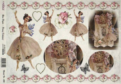 Rice Paper - Romantic Dancer