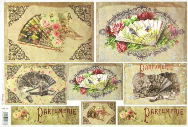 Rice Paper - Hand Fans