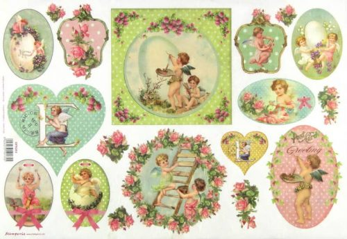 Rice Paper - Vintage Angels
