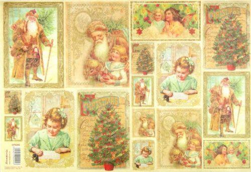 Rice Paper - Santa Claus