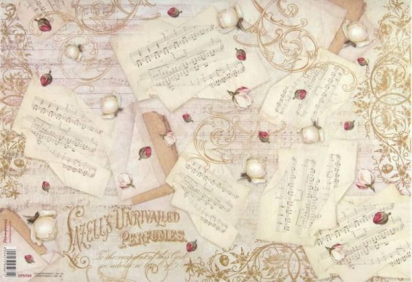 Rice Paper - Music and Rosebuds