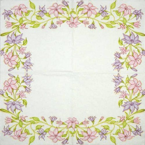 Paper Napkin - Bindweed Frame