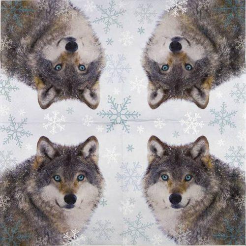 Paper Napkin - Wolf