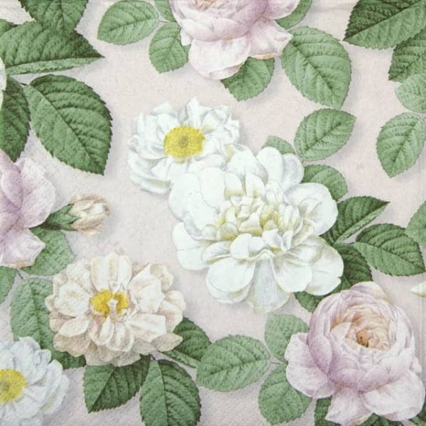 Paper Napkin - La Rosa rose