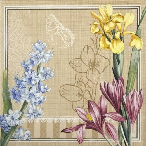 Lunch Napkins (20) - Spring Scene