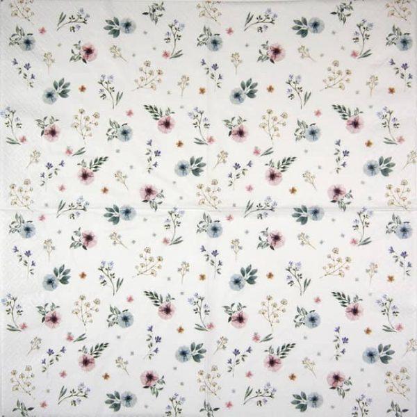 Paper Napkin - Sweet Flowers