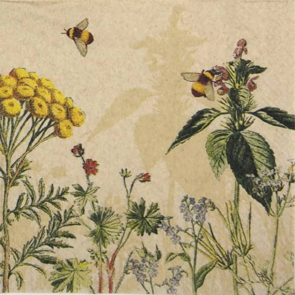 Lunch Napkins (20) - Wild Flowers