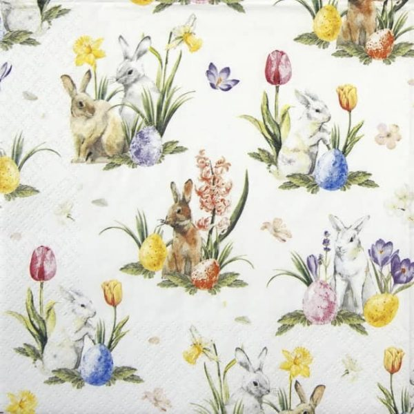 Cocktail Napkins (20) - World of Easter