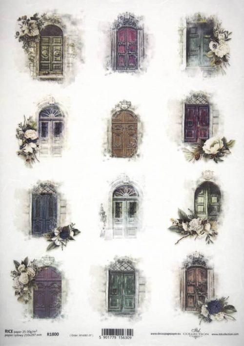 Rice Paper A/3 - Doors