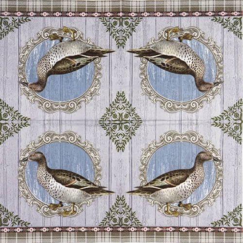 Paper Napkin - Duck Portrait