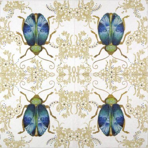 Paper Napkin - Nigel Quiney: Scrab