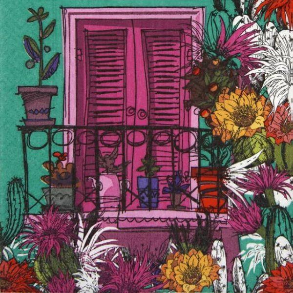 Paper Napkin - Balcony