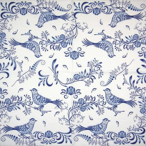 Lunch Napkins (20) - Porcelain bird
