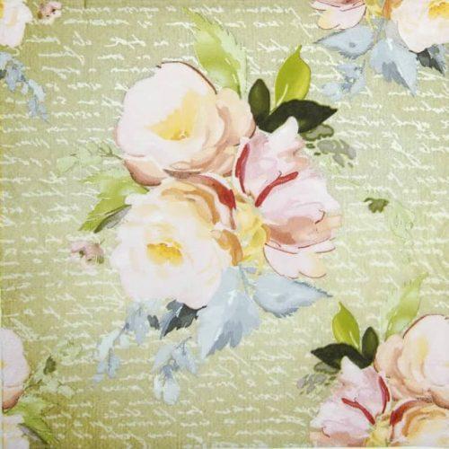 Paper Napkin - Vintage Roses