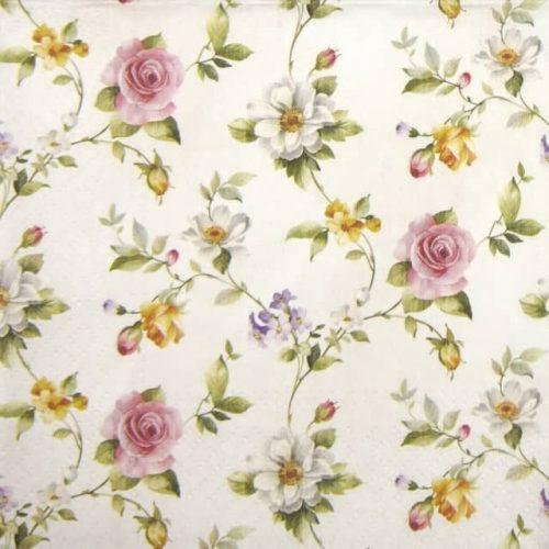 Paper Napkin - Tender Roses