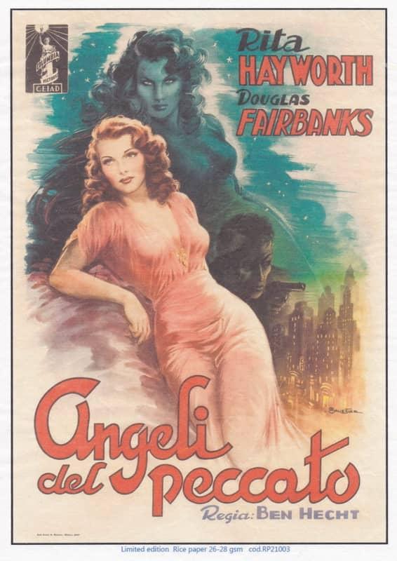 Rice Paper - Rita Hayworth poster