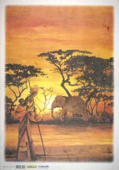 Rice Paper - Kenia 2