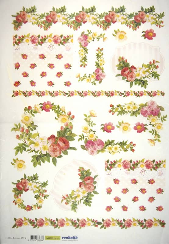 Rice Paper - Little Rose