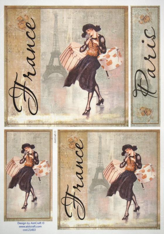 Rice Paper -  Paris Fashion black