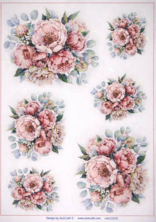 Rice Paper -  Bouquets M
