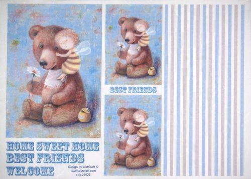 Rice Paper - Best Friend Teddy