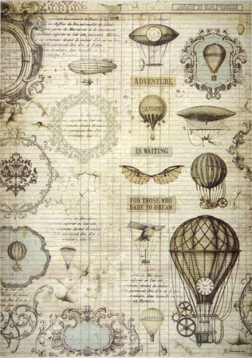 Rice Paper - Voyages Ballon