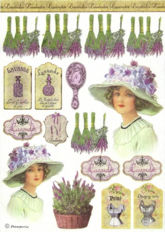Rice Paper - Lavender