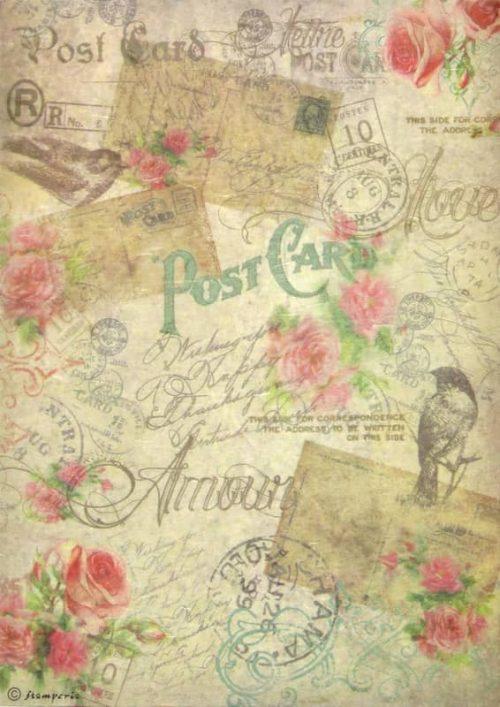 Rice Paper - Vintage Postcards