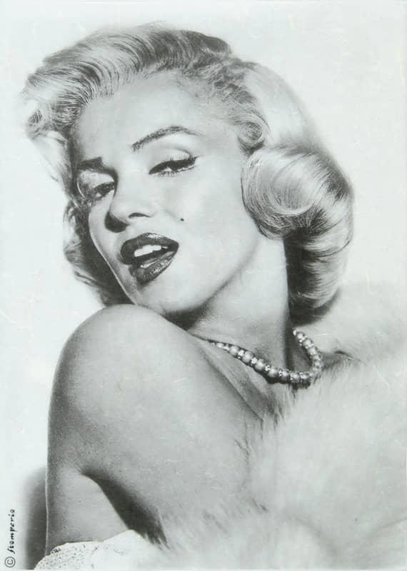 Rice Paper - Marilyn Monroe