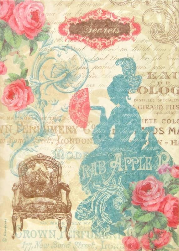 Rice Paper - Lady Versailles