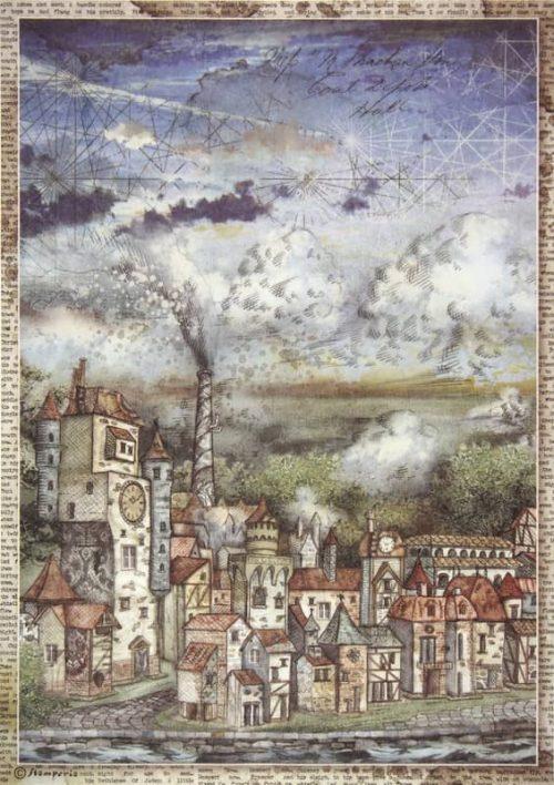 Rice Paper - Sir Vagabond cityscape