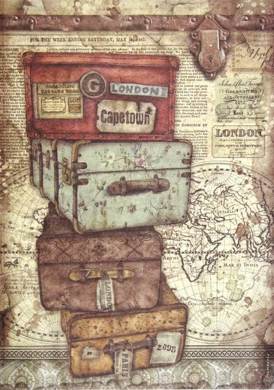 Rice Paper - Lady Vagabond luggage