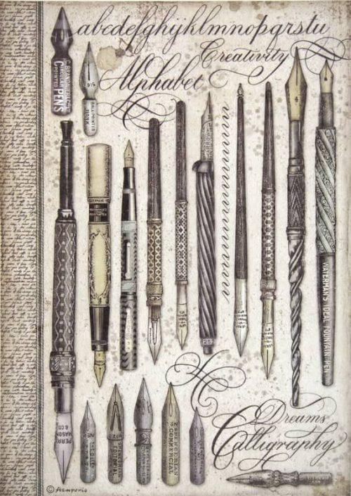 Rice Paper - Vintage pens