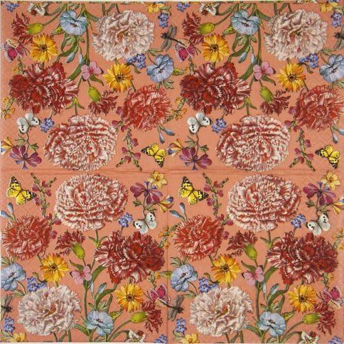 Paper Napkin - Dalida coral