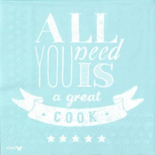 Paper Napkin - James Great Cook