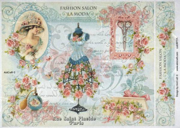Rice Paper - Fashion Salon La Moda