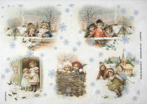 Rice Paper - Winter Playing