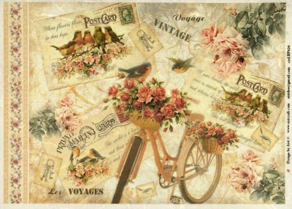 Rice Paper - Vintage Voyage