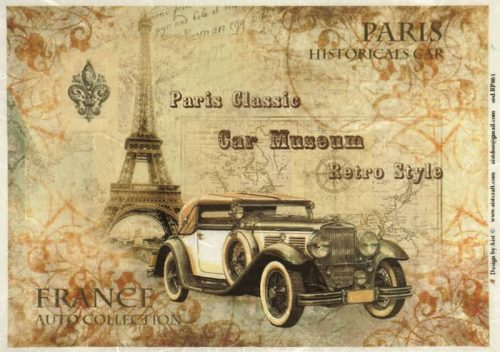 Rice Paper - Paris Historical Car