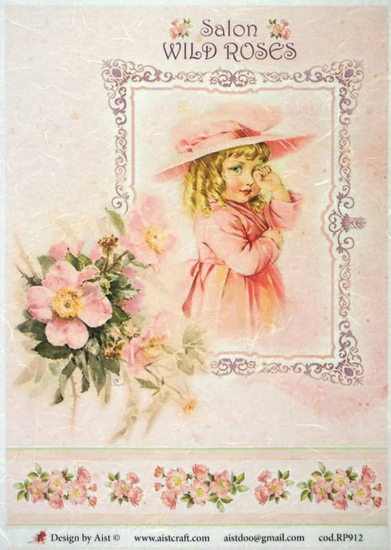 Rice Paper - Salon Wilde Roses