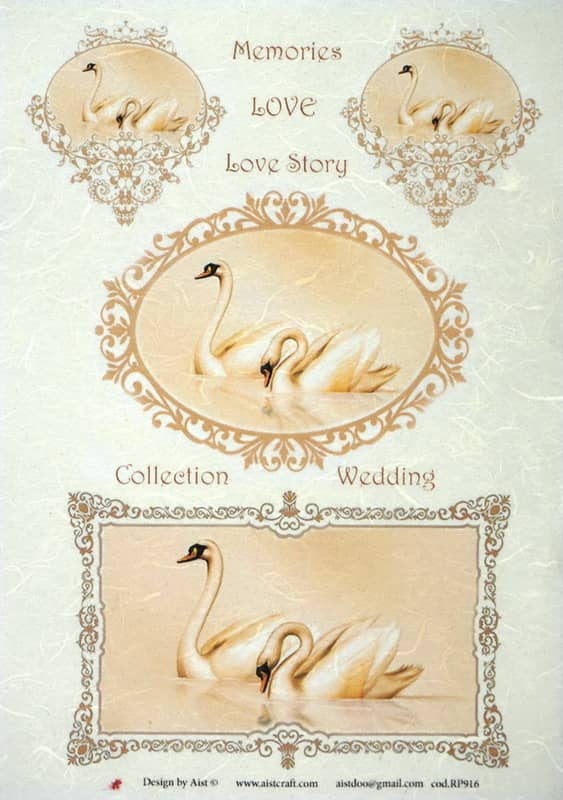 Rice Paper - Love Story Wedding