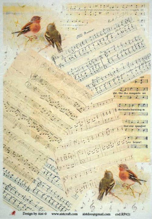 Rice Paper - Singing Birds