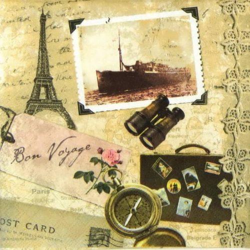 Lunch Napkins (20) - Bon Voyage Paris