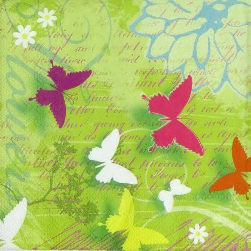 Paper Napkin - Butterflies