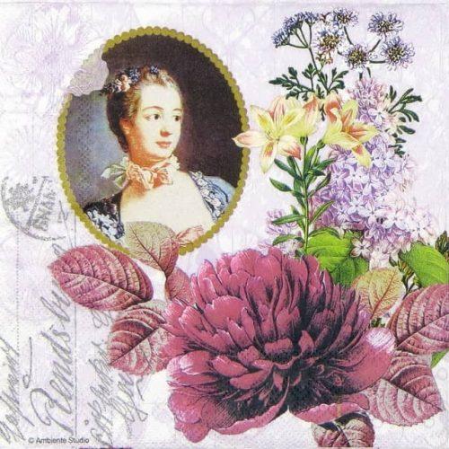 Paper Napkin - Madame Pompadour