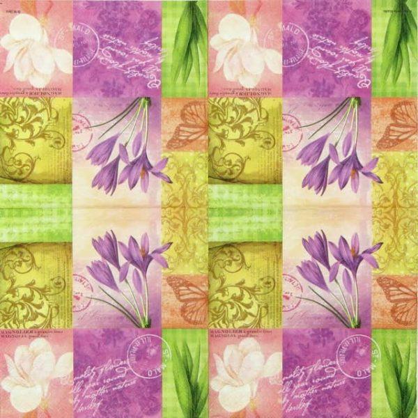 Paper Napkin - Grandes Fleurs