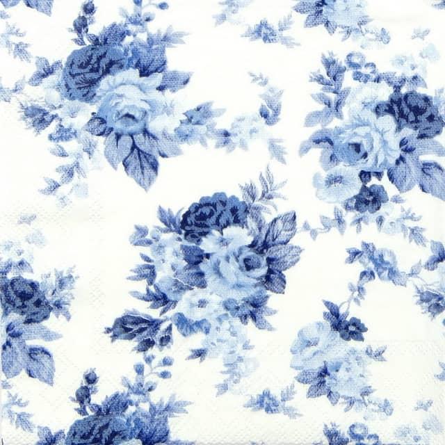 Paper Napkin - Antoinette Blue