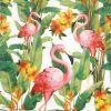 Paper Napkin - Flamingo White